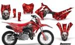 Honda CRF110F 2013 AMR Graphics Kit Decal Bones R 150x90 - Honda CRF 110F 2013-2018 Graphics