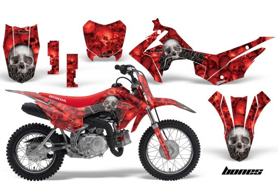 Honda CRF110F 2013 AMR Graphics Kit Decal Bones R 570x376 - Honda CRF 110F 2013-2018 Graphics