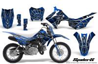 Honda-CRF110F-CreatorX-Graphics-Kit-SpiderX-Blue