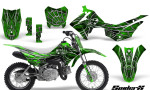 Honda CRF110F CreatorX Graphics Kit SpiderX Green 150x90 - Honda CRF 110F 2013-2018 Graphics