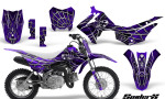 Honda CRF110F CreatorX Graphics Kit SpiderX Purple 150x90 - Honda CRF 110F 2013-2018 Graphics