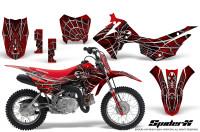 Honda-CRF110F-CreatorX-Graphics-Kit-SpiderX-Red