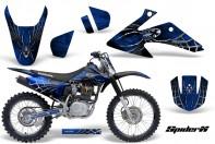 Honda-CRF150-CRF230-08-10-CreatorX-Graphics-Kit-SpiderX-Blue-NP-Rims