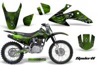 Honda-CRF150-CRF230-08-10-CreatorX-Graphics-Kit-SpiderX-Green-NP-Rims