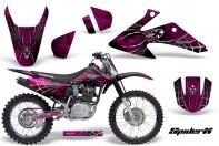 Honda-CRF150-CRF230-08-10-CreatorX-Graphics-Kit-SpiderX-Pink-NP-Rims