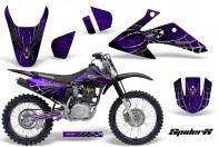 Honda-CRF150-CRF230-08-10-CreatorX-Graphics-Kit-SpiderX-Purple-NP-Rims