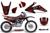 Honda-CRF150-CRF230-08-10-CreatorX-Graphics-Kit-SpiderX-Red-NP-Rims-BB