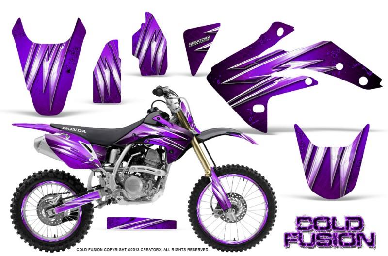 Honda-CRF150R-07-10-CreatorX-Graphics-Kit-Cold-Fusion-Purple-NP-Rims