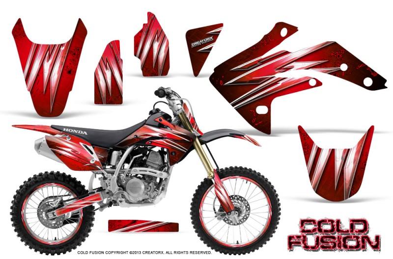 Honda-CRF150R-07-10-CreatorX-Graphics-Kit-Cold-Fusion-Red-NP-Rims