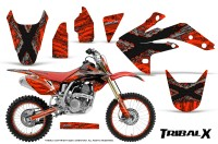 Honda-CRF150R-07-10-CreatorX-Graphics-Kit-TribalX-Silver-Red-NP-Rims
