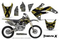 Honda-CRF150R-07-10-CreatorX-Graphics-Kit-TribalX-Yellow-Silver-NP-Rims