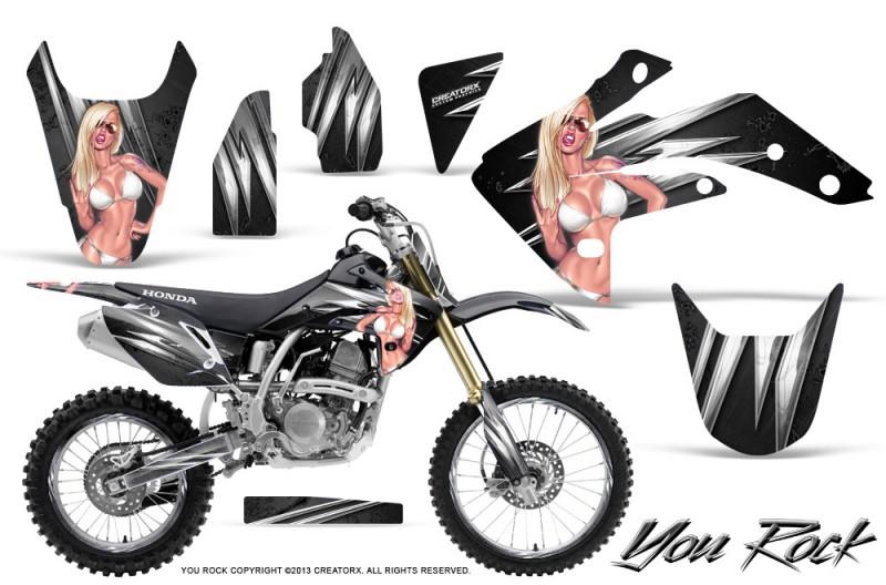 Honda-CRF150R-07-10-CreatorX-Graphics-Kit-You-Rock-Black-NP-Rims