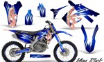 Honda CRF250 10 12 CRF450 09 12 CreatorX Graphics Kit You Rock Blue NP Rims 150x90 - Honda CRF250R 2004-2013 Graphics