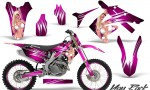 Honda CRF250 10 12 CRF450 09 12 CreatorX Graphics Kit You Rock Pink NP Rims 150x90 - Honda CRF250R 2004-2013 Graphics