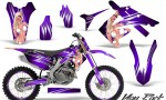 Honda CRF250 10 12 CRF450 09 12 CreatorX Graphics Kit You Rock Purple NP Rims 150x90 - Honda CRF250R 2004-2013 Graphics