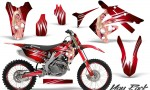 Honda CRF250 10 12 CRF450 09 12 CreatorX Graphics Kit You Rock Red NP Rims 150x90 - Honda CRF250R 2004-2013 Graphics