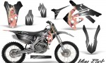 Honda CRF250 10 12 CRF450 09 12 CreatorX Graphics Kit You Rock Silver NP Rims 150x90 - Honda CRF250R 2004-2013 Graphics
