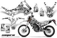 Honda-CRF250L-2013-CreatorX-Graphics-Kit-Samurai-Black-White-NP-Rims