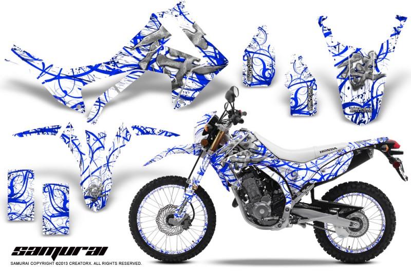 Honda-CRF250L-2013-CreatorX-Graphics-Kit-Samurai-Blue-White-NP-Rims