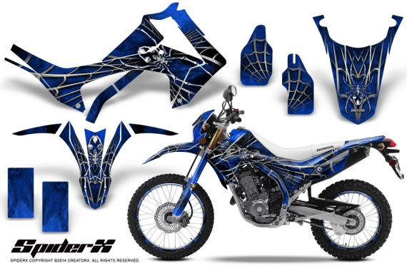 Honda-CRF250L-2013-CreatorX-Graphics-Kit-SpiderX-Blue-NP-Rims