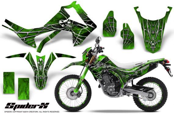 Honda-CRF250L-2013-CreatorX-Graphics-Kit-SpiderX-Green-NP-Rims