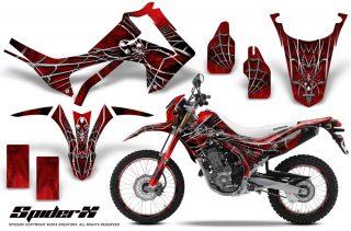 Honda CRF250L 2013 CreatorX Graphics Kit SpiderX Red NP Rims1 320x211 - Honda CRF250L 2013-2015 Graphics
