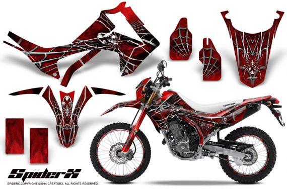 Honda-CRF250L-2013-CreatorX-Graphics-Kit-SpiderX-Red-NP-Rims