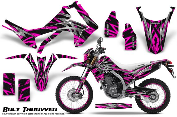 Honda-CRF250L-2013-Graphics-Kit-Bolt-Thrower-Pink-NP-Rims
