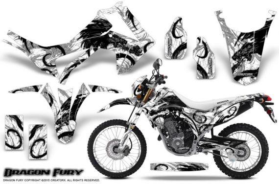 Honda-CRF250L-2013-Graphics-Kit-Dragon-Fury-Black-White-NP-Rims