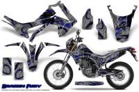 Honda-CRF250L-2013-Graphics-Kit-Dragon-Fury-Blue-Silver-NP-Rims