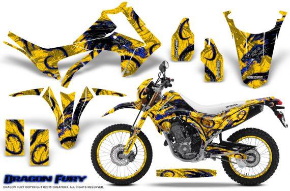 Honda-CRF250L-2013-Graphics-Kit-Dragon-Fury-Blue-Yellow-NP-Rims