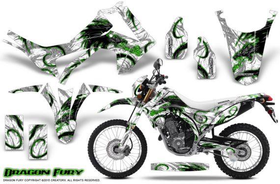 Honda-CRF250L-2013-Graphics-Kit-Dragon-Fury-Green-White-NP-Rims