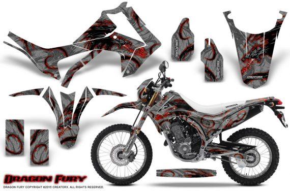Honda-CRF250L-2013-Graphics-Kit-Dragon-Fury-Red-Silver-NP-Rims