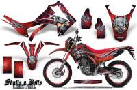 Honda-CRF250L-2013-Graphics-Kit-Skulls-n-Bolts-Metal-Blue-Red-NP-Rims