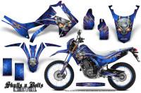 Honda-CRF250L-2013-Graphics-Kit-Skulls-n-Bolts-Metal-Pink-Blue-NP-Rims