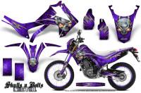 Honda-CRF250L-2013-Graphics-Kit-Skulls-n-Bolts-Metal-Pink-Purple-NP-Rims