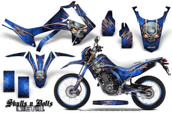 Honda-CRF250L-2013-Graphics-Kit-Skulls-n-Bolts-Metal-Red-Blue-NP-Rims