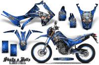 Honda-CRF250L-2013-Graphics-Kit-Skulls-n-Bolts-Metal-White-Blue-NP-Rims