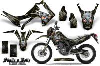 Honda-CRF250L-2013-Graphics-Kit-Skulls-n-Bolts-Metal-Yellow-Black-NP-Rims