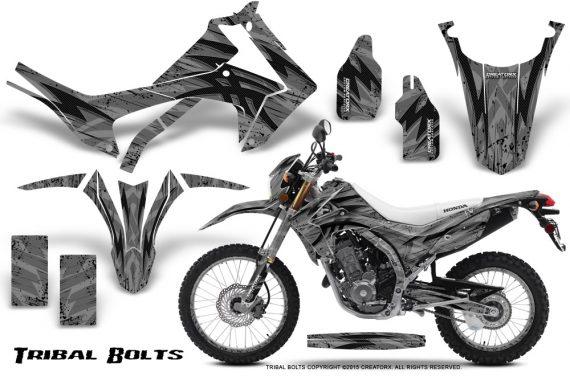 Honda-CRF250L-2013-Graphics-Kit-Tribal-Bolts-Silver-NP-Rims