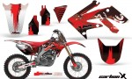 Honda CRF250R 04 09 AMR Graphics Kit CarbonXRed NPs 150x90 - Honda CRF250R 2004-2013 Graphics