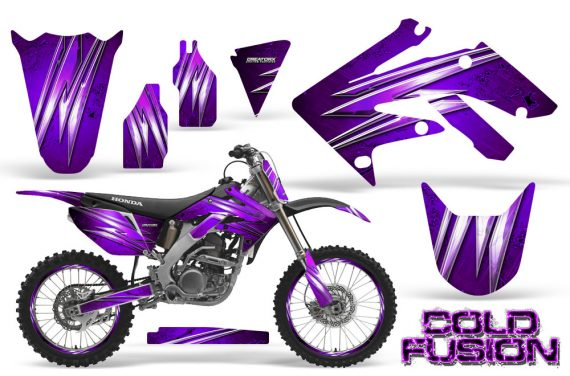 Honda CRF250R 04 09 CreatorX Graphics Kit Cold Fusion Purple NP Rims 570x376 - Honda CRF250R 2004-2013 Graphics