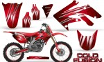 Honda CRF250R 04 09 CreatorX Graphics Kit Cold Fusion Red NP Rims 150x90 - Honda CRF250R 2004-2013 Graphics