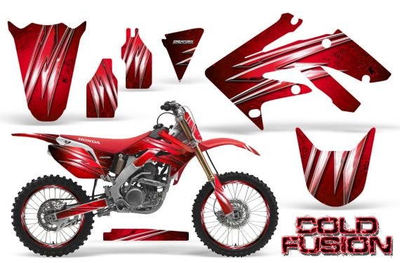 Honda CRF250R 04 09 CreatorX Graphics Kit Cold Fusion Red NP Rims 570x376 - Honda CRF250R 2004-2013 Graphics
