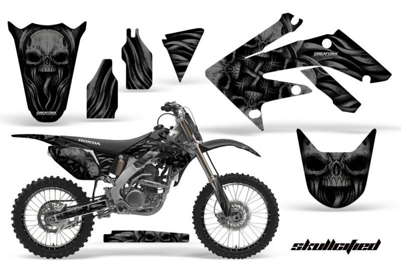 Honda-CRF250R-04-09-CreatorX-Graphics-Kit-Skullcified-Black-NPs-Rims