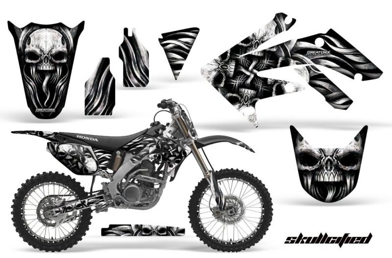 Honda-CRF250R-04-09-CreatorX-Graphics-Kit-Skullcified-Silver-NPs-Rims