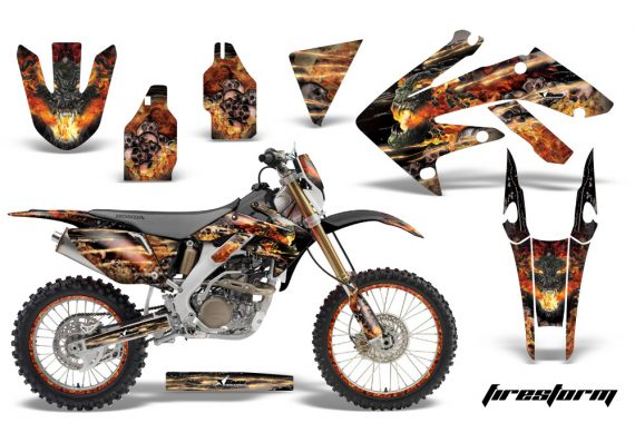 Honda CRF250X AMR Graphics Kit FS B NPs 570x380 - Honda CRF250X 2004-2018 Graphics