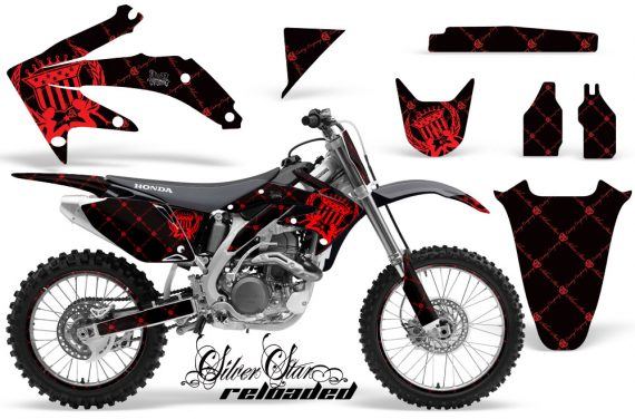 Honda CRF450 05 08 AMR Graphics Kit RELOADED RED 570x376 - Honda CRF450R 2002-2012 Graphics