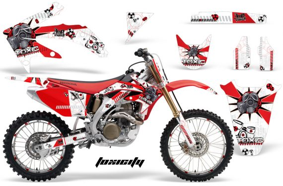 Honda CRF450 05 08 AMR Graphics Kit TOXICITY RED WHITEBG 570x376 - Honda CRF450R 2002-2012 Graphics