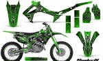 Honda CRF450R 2013 2014 Graphics Kit SpiderX Green NP Rims 150x90 - Honda CRF450R 2013-2016 Graphics